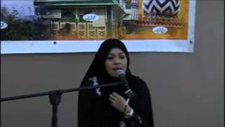 Sharifah Khasif in Cape Town South Africa