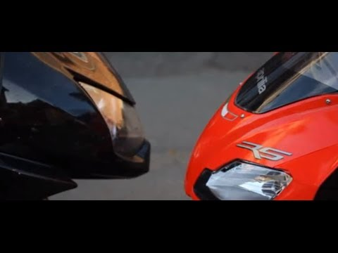 Aprilia RS 125 vs Kawasaki Ninja 250 R Test