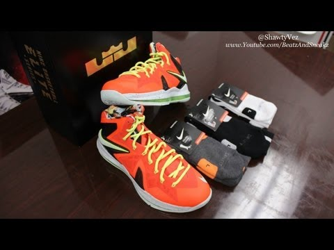 Nike LeBron X Elite Crimson Review