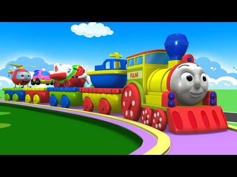 Toy Factory - Cartoon Cartoon - Kids Videos for Kids - Trains for Kids - Train Cartoon - Cars - Toys
