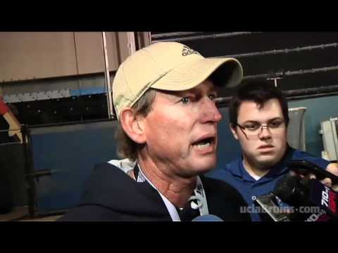 Rick Neuheisel After Practice, 11-30-11