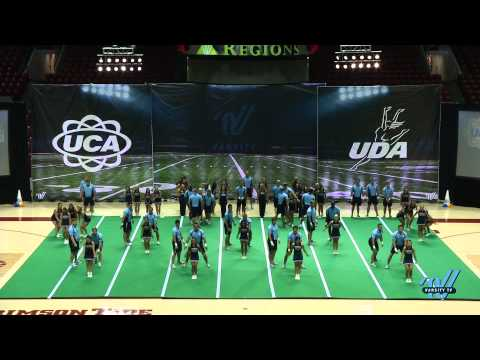 2014 UCA UDA College Spirit Camp Demo Routine Alabama