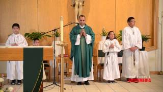 8-3-14 Santa Misa - Padre Jorge Canela Rodríguez