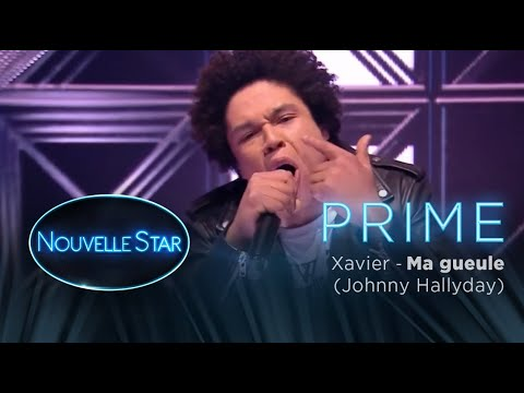 Prime 02 Xer Ma Gueule Johnny Hallyday Nouvelle Star 2017
