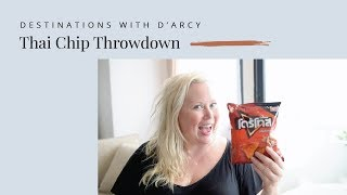 Weird Chip Flavours in Thailand - Destinations with D'Arcy