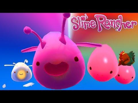 Slime Rancher #1 Веселый игровой мультик про ферму слизи развивающее видео для детей про Слизунов