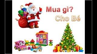 Top 5 món đồ chơi dành cho bé yêu khi Noel đến [Jingle Bell - Merry Christmas]