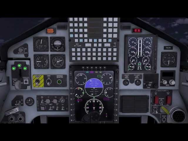 Combat Pilot CP-T-38C Engine Start Procedures Walkthrough