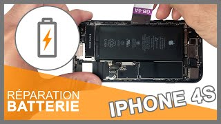 Tuto : Changer batterie iPhone 4S