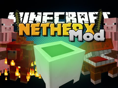 Minecraft Mod - Nether X Mod - New Mobs. Items and Blocks