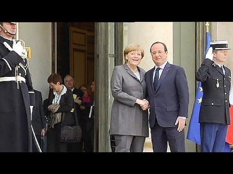 Francois Hollande and Angela Merkel set to discuss sanctions against Ukraine