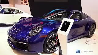 2020 Porsche 911 Carrera 4S - Exterior and Interior Walkaround - 2019 Montreal Auto Show