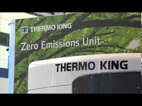 Thermo King Highlights Zero Emissions Trailer Unit All-Electric Refrigeration System
