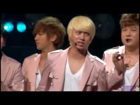[fancam] 100711 Yesung in ending @ Inki