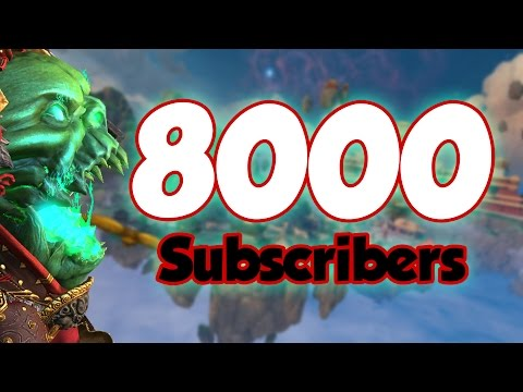 8000 Subscribers!!! [Giveaway Closed]