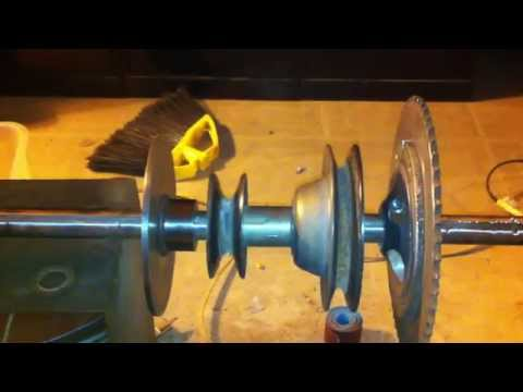 Bandsaw Mill build - video #1 - Drive unit concept.