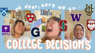 my 2020 college decision reactions *anxiety intensifies*