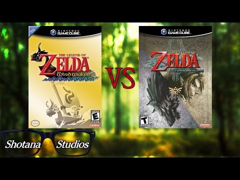 The Wind Waker VS Twilight Princess   Which is the better Legend of Zelda?   Shotana Studios VS