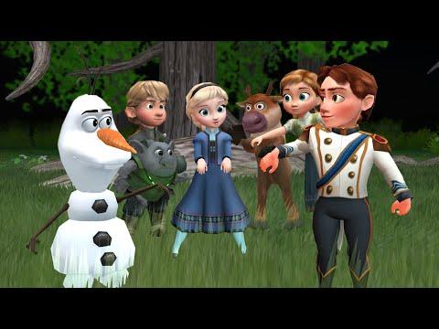 [MMD] Frozen KIDS The Fox! [Dancing Episode 3]