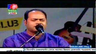 Aloke Kumar Sen || অলোক কুমার সেন। Bangla Vision Music Club 04- 03- 2015( Part -2 )