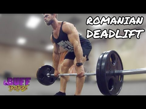 How to Perform Romanian Deadlift - Hamstring Leg Exercise Image 1