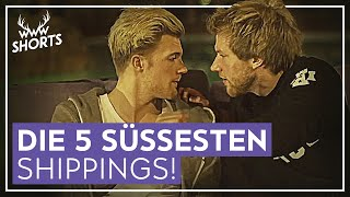 DIE 5 SÜSSESTEN YOUTUBER-SHIPPINGS! | TOP 5