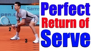 How To Hit Perfect Tennis Return of Serves In 3 Simple Steps