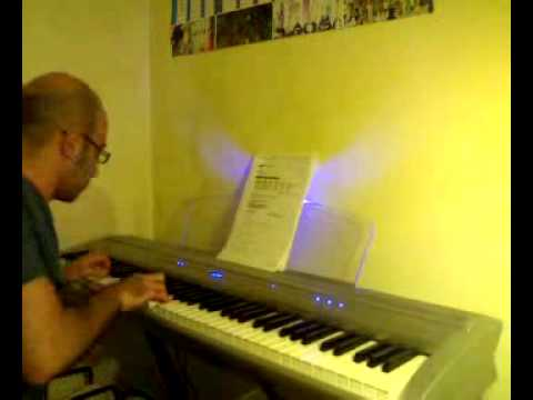 I heard it through the grapevine - Electric piano solo