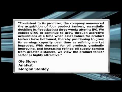 Analyst Insight: Morgan Stanley Initiated Coverage Of Scorpio Tankers With OW Rating