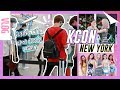 FLYING WITH K-POP IDOLS | KCON New York 2018 & Korean Skincare Demo! meejmuse