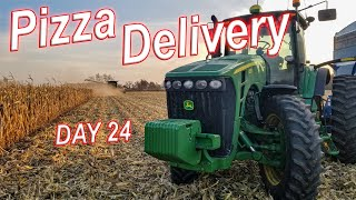 PIZZA Delivery Grain Cart Driver | HARVEST 19 Day 24