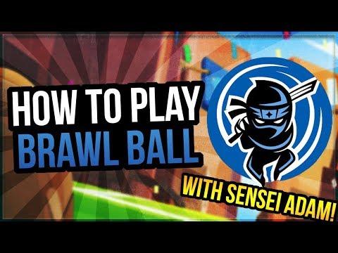 How To Play Brawl Ball with Sensei Adam! Brawl Ball Guide [Brawl Stars]