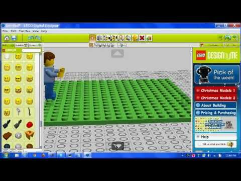 How to make a lego stop motion on LDD