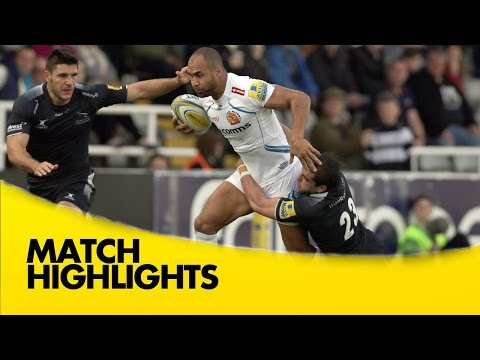 Newcastle Falcons Vs Exeter Chiefs - Aviva Premiership 2015/16