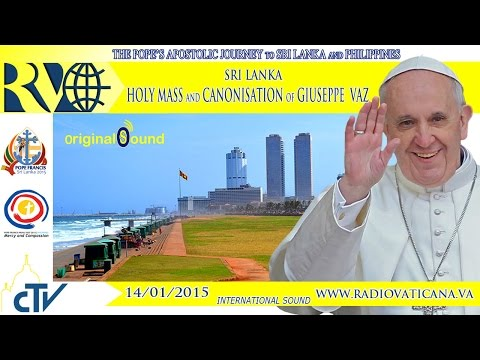 Pope in Sri Lanka - Holy Mass - 2015.01.14