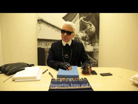 KARL LAGERFELD INTERVIEW - S/S 2015