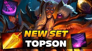Topson Invoker with Radiance [NEW SET] Dota 2