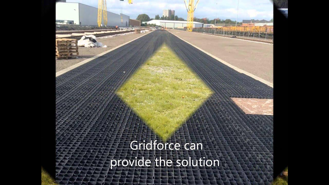 Gridforce Ground Reinforcement Plastic Permeable Paving