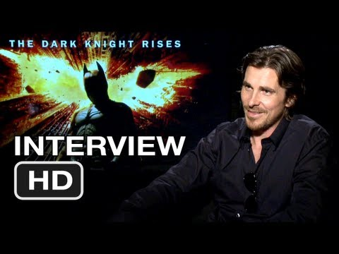 The Dark Knight Rises Interview - Christian Bale (2012) HD