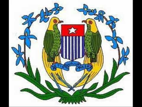 West Papua National Anthem video