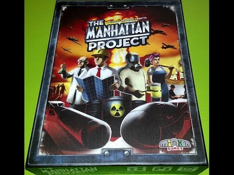 Off The Shelf Board Game Reviews Presents - The Manhattan Project