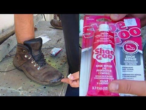 Shoe Goo Clear Review Repair Boots Shoes Man VS Junk EP 230