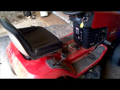 Troubleshooting a Lawn Tractor That Won't Start - Bad Starter Ground
