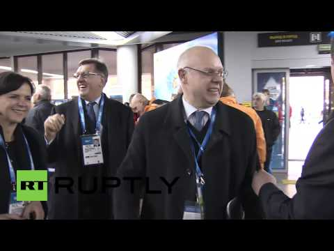 Russia: Baltic leaders escort Olympians to Sochi