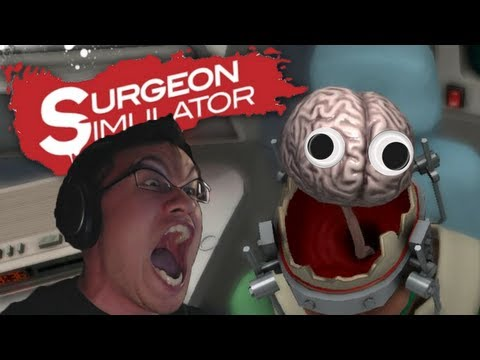 Surgeon Simulator 2013 | Part 4 | MARKIPLIER LOSES HIS MIND!!