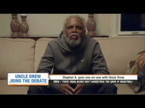 Uncle Drew interview with Stephen A. Smith ESPN