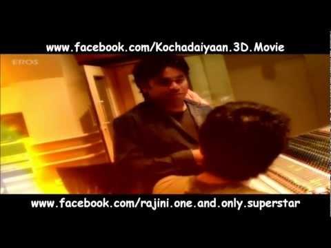 Kochadaiyaan Background Music Recording - A.R. Rahman & German Film Orchestra Babelsberg