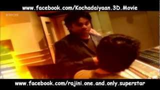 Kochadaiyaan - Kochadaiyaan Background Music Recording - A.R. Rahman & German Film Orchestra Babelsberg