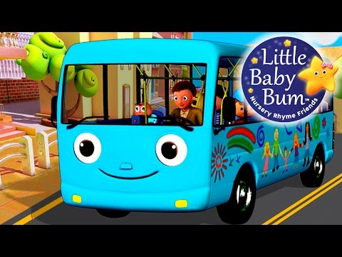 Wheels On The Bus | Part 4 | Nursery Rhymes | Hd Version From Littlebabybum video