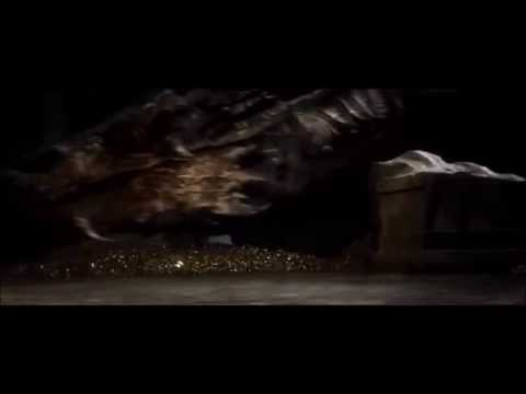 Bilbo/Smaug Scene- Bilbo escapes the dragon
